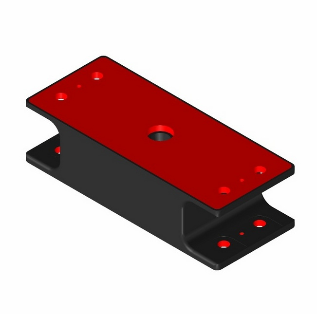 Vulcanite Rectangular Isolators