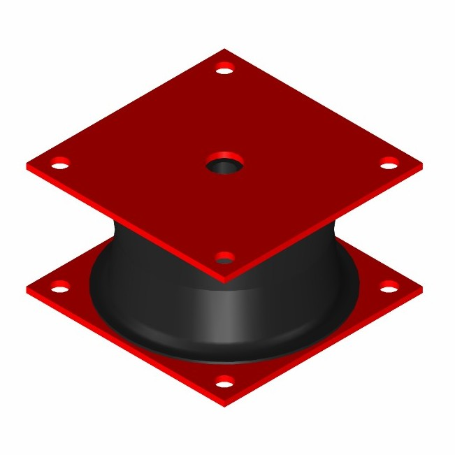 Square Pile Driving Isolator