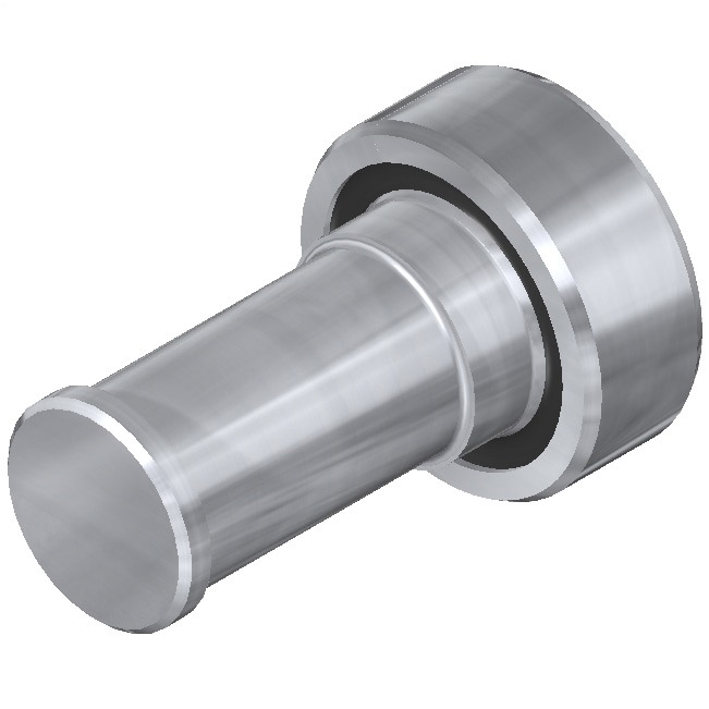 Rail – Secondary: Offset spherical bearing