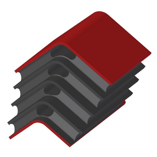 Rail – Primary: Large Chevron